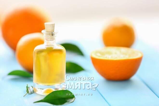 Апельсин используют в ароматерапии и косметологии