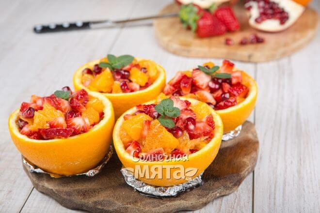 Апельсины хороши в сладких и несладких салатах