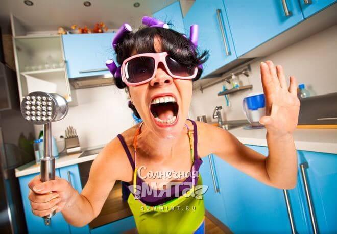 Сумасшедшая домохозяйка, фото