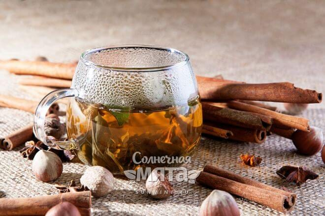 Чай с мускатным орехом вкусный и полезный