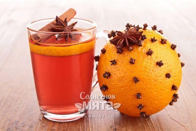Чай с участием гвоздики хорош в холода