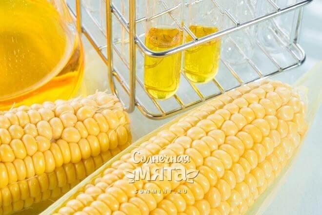 Фруктозу получают из кукурузного сиропа