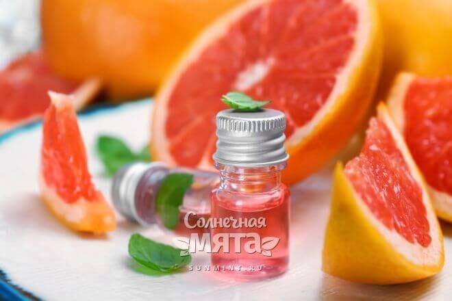 Грейпфрутовое масло ароматное и полезное