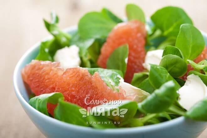 Грейпфруты уместны в легких салатах