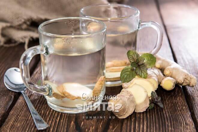 Имбирный чай очень полезный
