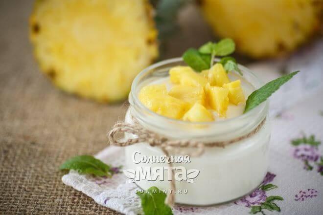 Из ананасов готовят сладкие и несладкие блюда