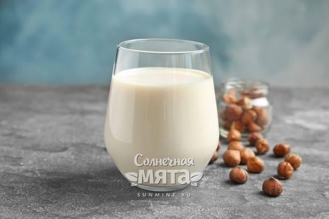 Из фундука делают веганское молоко