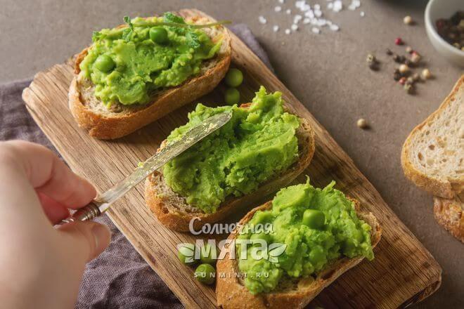 Из гороха можно делать множество вкусных блюд
