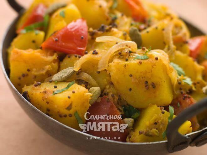 Из картофеля можно приготовить массу блюд