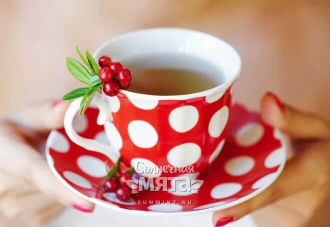 Из клюквы можно делать чай