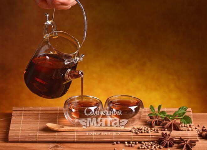 Из кориандра делают полезный напиток