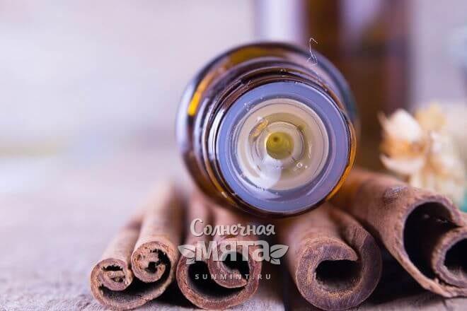Из корицы делают ароматное масло