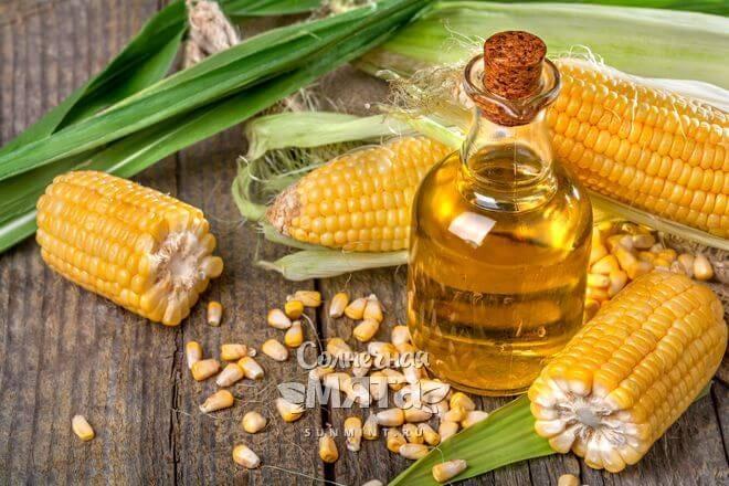 Из кукурузы давят масло