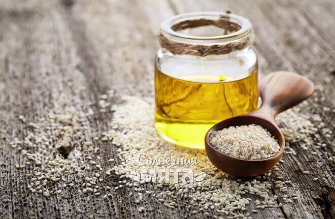 Из кунжута давят масло