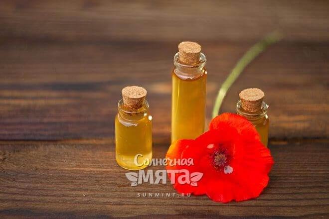 Из маковых семян давят масло