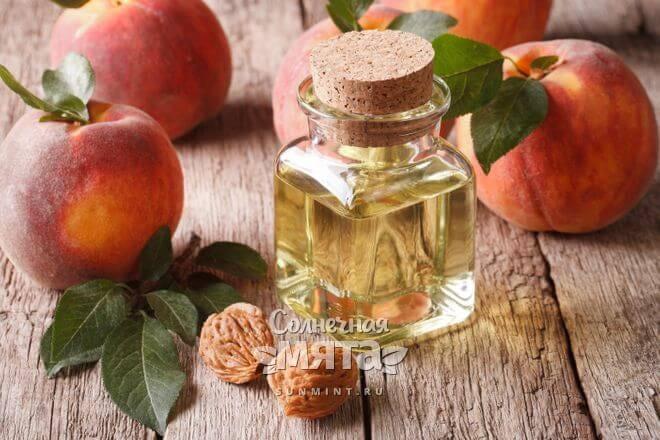 Из персиков получают масло