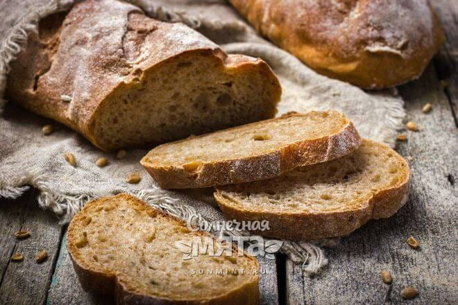 Из пшеницы пекут хлеб