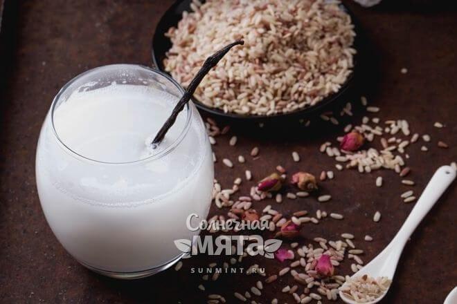 Из риса делают веганское молоко