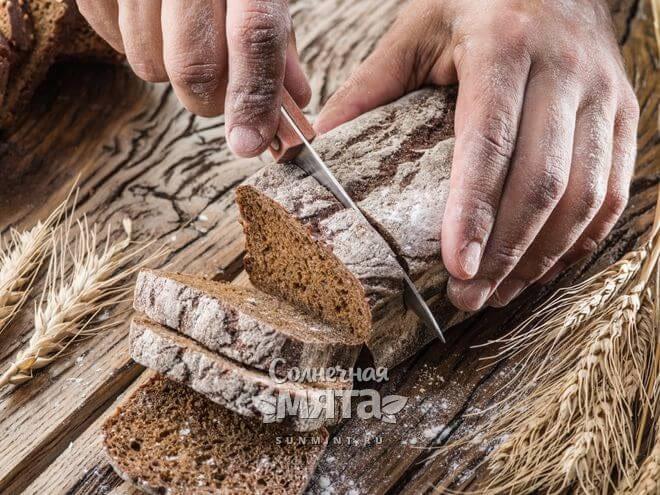Из ржи делают хлеб