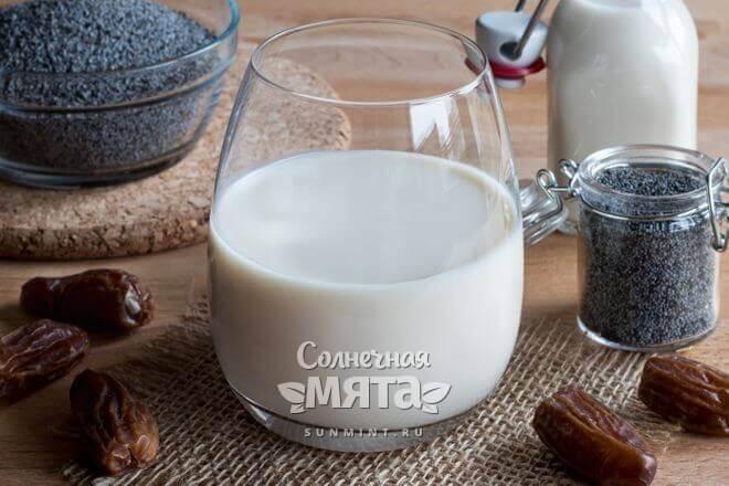 Из семечек мака делают молоко