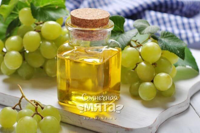 Из винограда получают масло