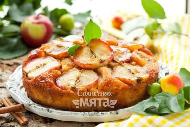 Из яблок получаются вкусные пироги