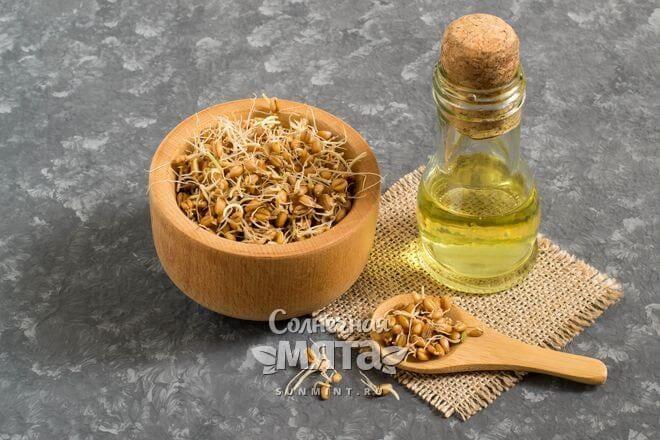 Из зародышей пшеницы делают масло