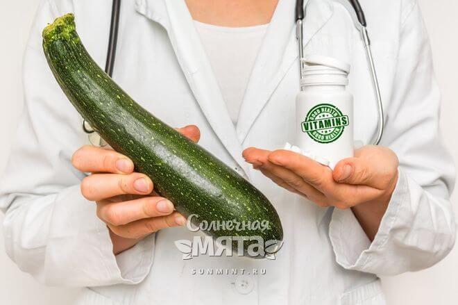 Кабачоек полезен для здоровья