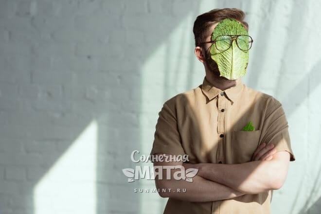 Капустная маска полезна для кожи