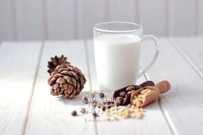 Кедровое молочко любят веганы