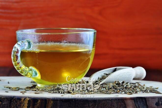 Кумин можно добавлять в чай