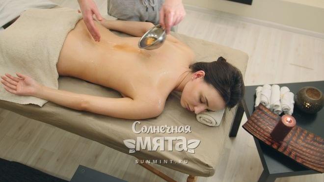 Кунжутное масло используют для массажа