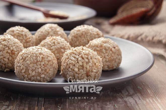 Кунжутные семена широко используются в кулинарии
