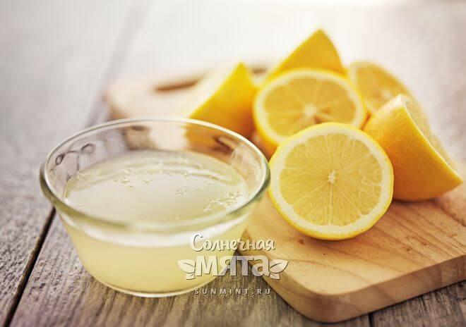 Лимоный сок в малых дозах полезен