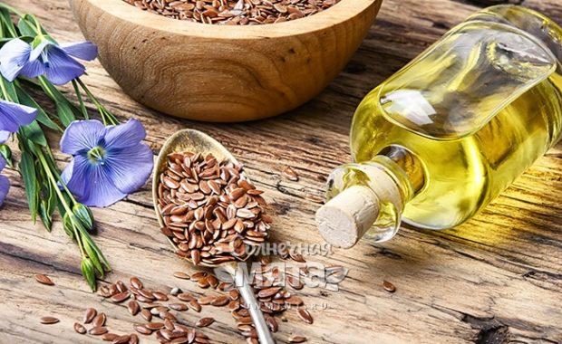 Льняное масло вегетарианский продукт с рыбным ароматом