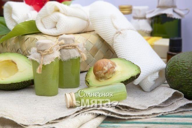 Масло авокадо используют в медицине и косметологии