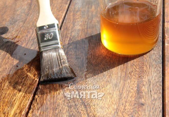 Масло льна применяют в быту