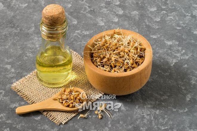 Масло зародышей пшеницы густое и ароматное