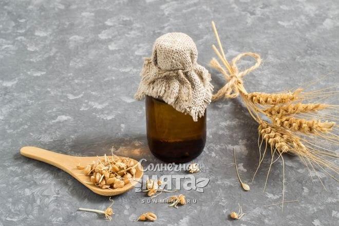 Масло зародышей пшеницы используют в косметологии