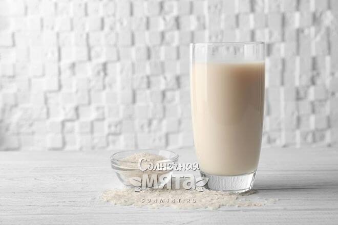Молоко и рис с витамином N, фото