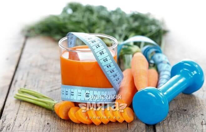 Морковный сок полезен в небольших количествах
