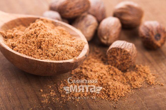 Мускатный орех маслянистый и пряный