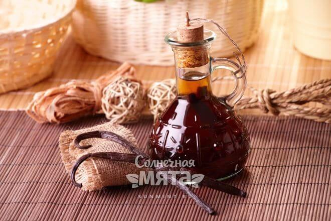 Настойка и масло ванили лечат болезни