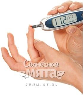Тест на уровень сахара в крови, фото