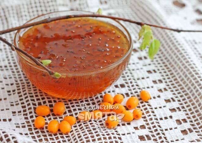 Облепиховое варенье с витамином B6, фото