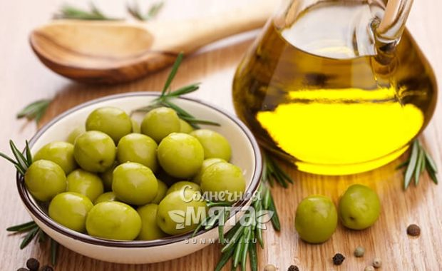 Оливковое масло вкусный фреш из невкусных ягод