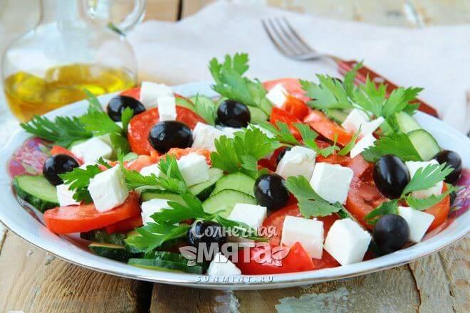 Оливковый вкус преображает салаты