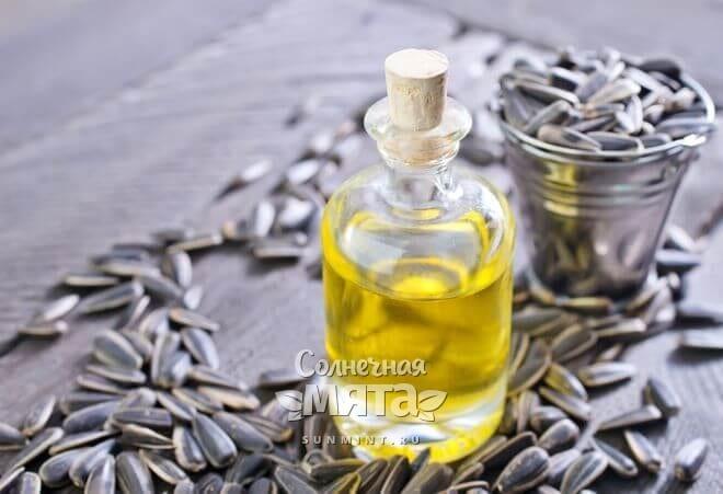Подсолнечное масло часто используют в хозяйстве