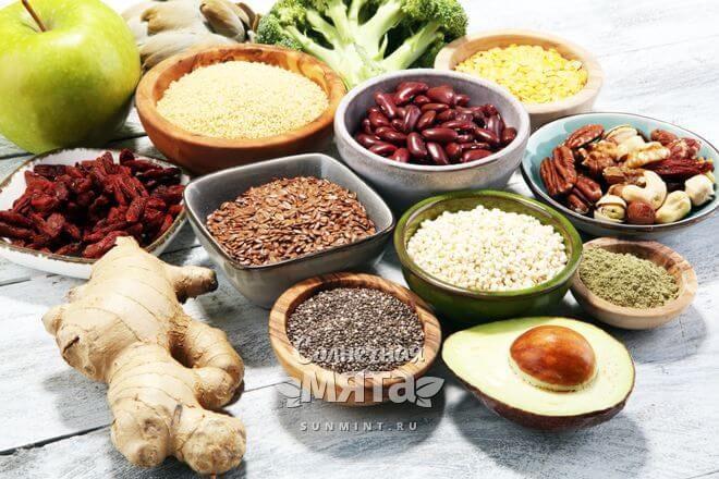 Продукты,богатые витамином B9, фото