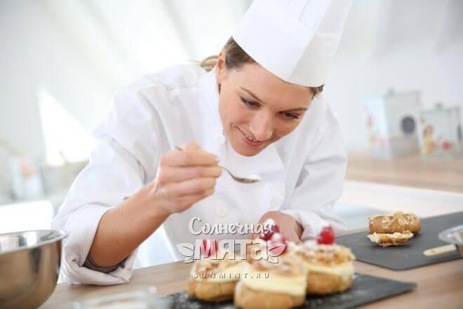 Сахар широко используется в кулинарии